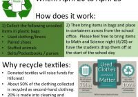 Used textile drive