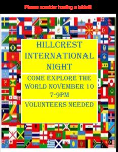 Come Explore the World November 10